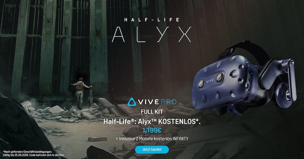 HTC Vive Pro Full Kit mit Half-Life Alyx