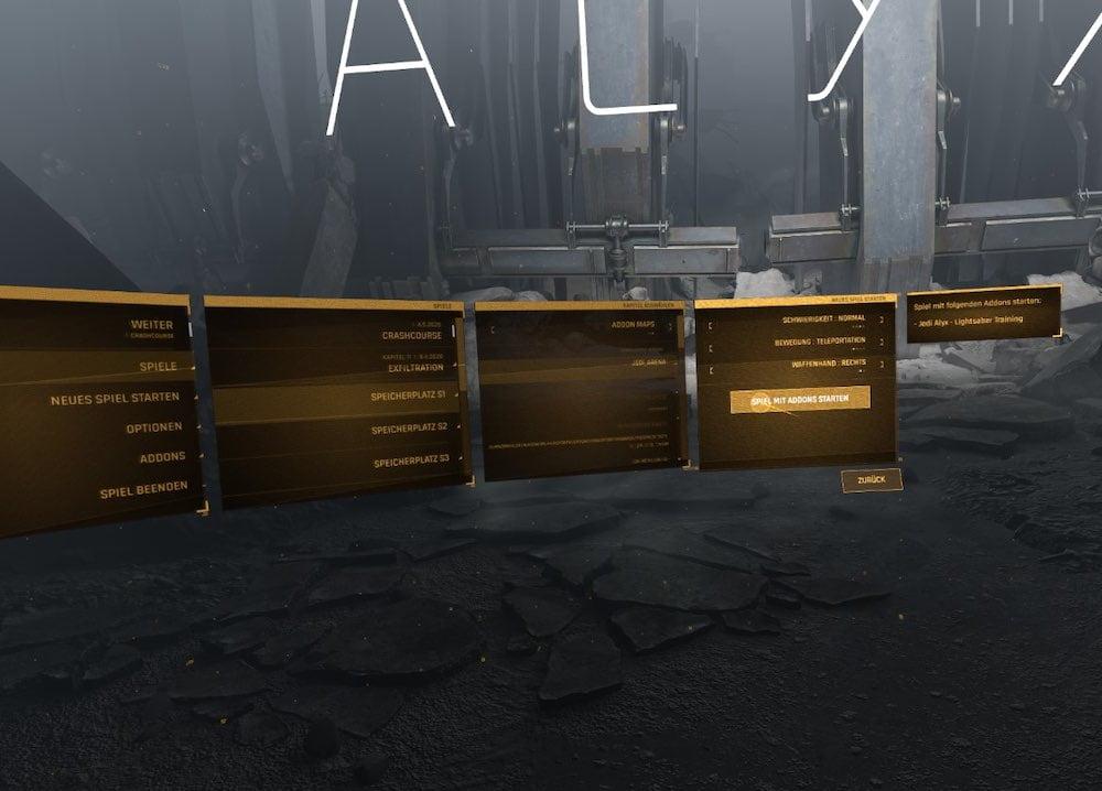 Half Life Alyx Mod starten 2