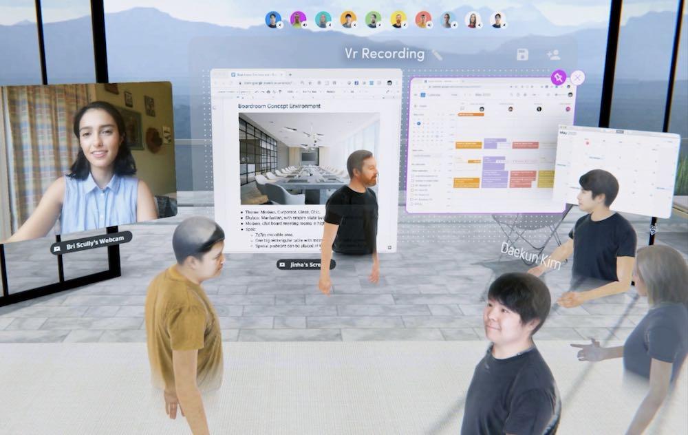 Spatial rüstet auf: Die für VR und AR entwickelte Konferenz-App unterstützt jetzt auch PCs und Smartphones und ist bis auf Weiteres gratis.