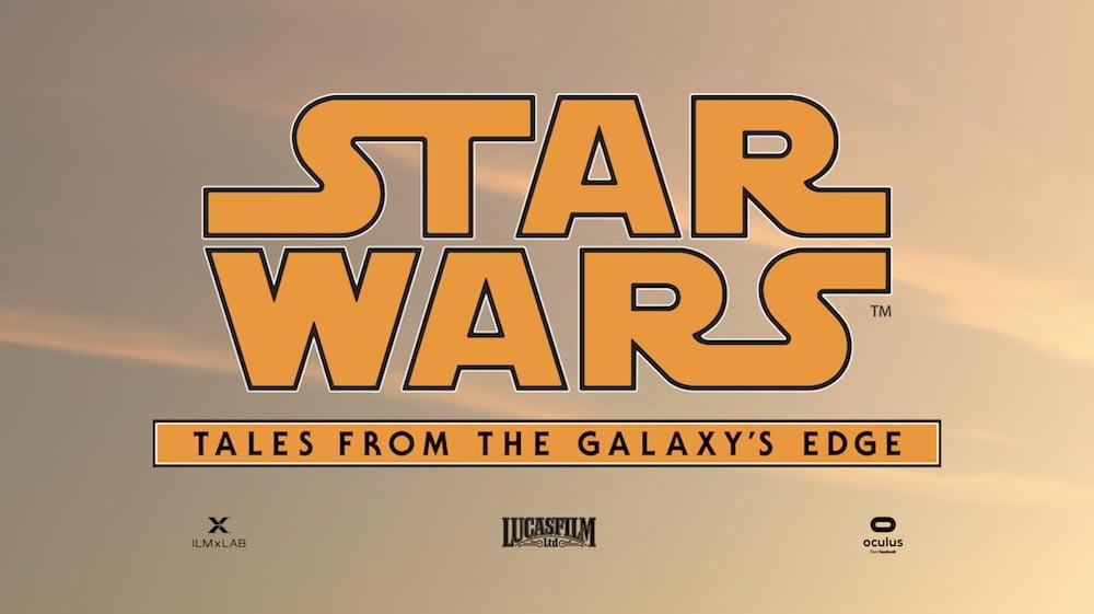 """""""Star Wars: Tales From The Galaxy's Edge"""" ist ein weiteres hochkarätiges Star Wars-VR-Abenteuer."""