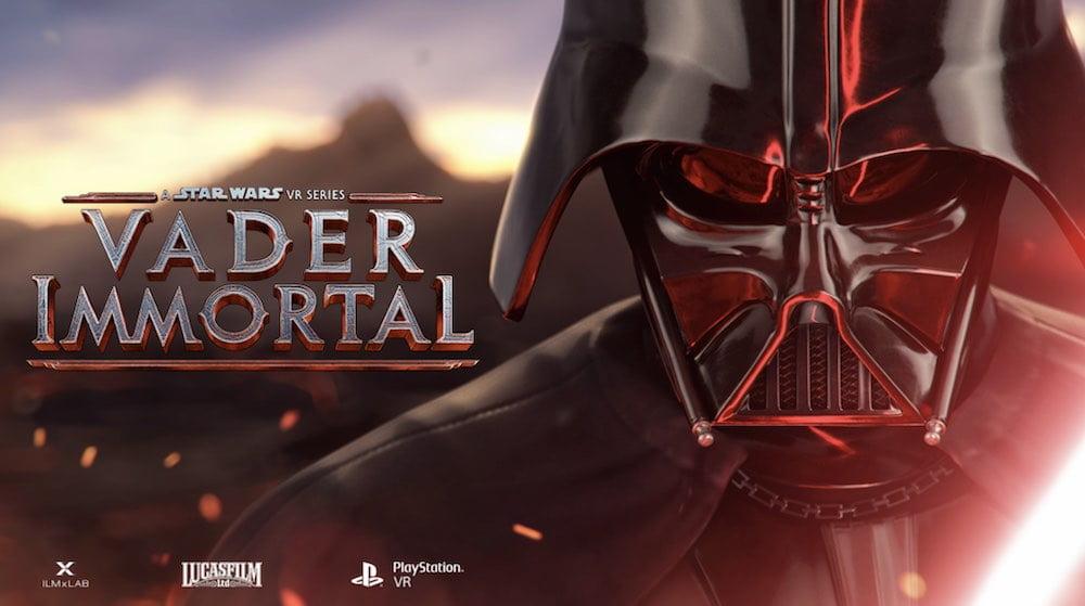 Die dreiteilige VR-Saga Vader Immortal erscheint für Sonys VR-Brille.