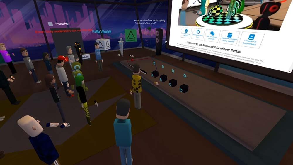 Microsofts Entwicklerkonferenz für Mixed-Reality-Programmierer wechselt 2020 in VR.
