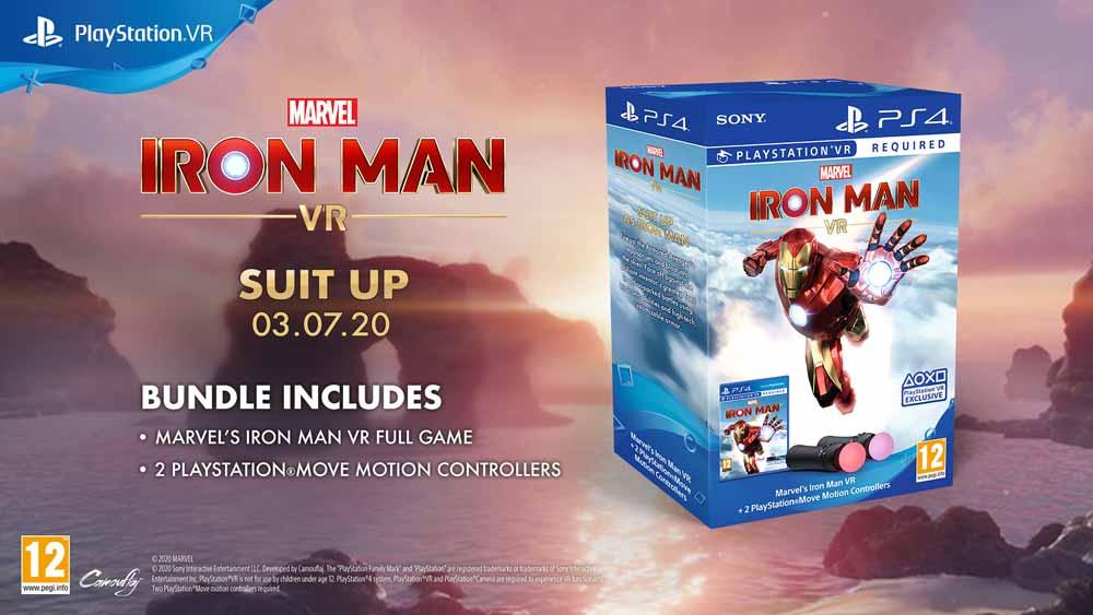 Sonys Iron Man VR läuft nur mit den Move-Bewegungscontrollern - entsprechend bietet Sony Spiel und Controller für 100 Euro im Bundle an. Bild: Sony