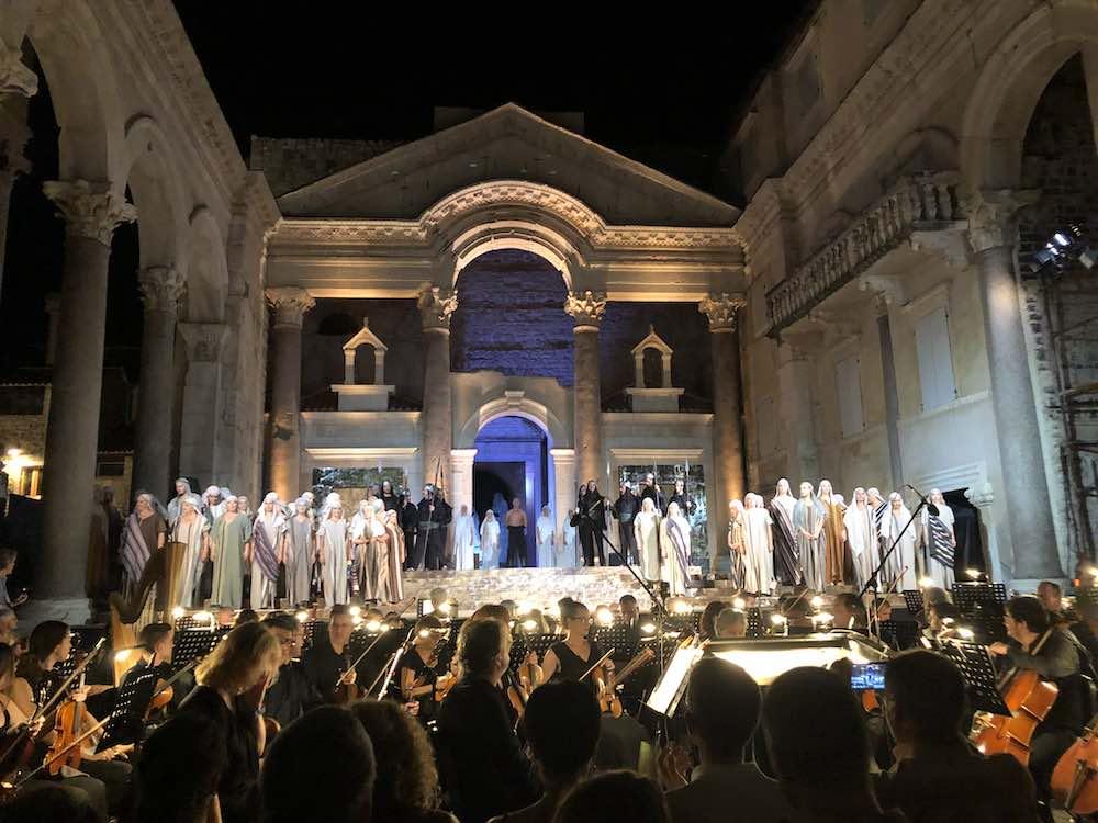 Diokletianpalast Konzert