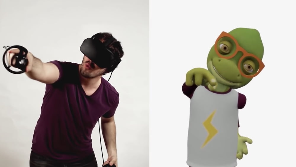 使用免费的Flipside Studio应用程序,您可以通过体现角色来在VR中实现完全动画。