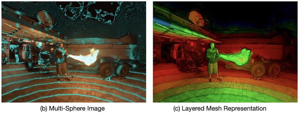 Google Lichtfeldkamera Deepview 2
