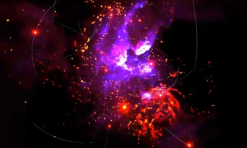 Forscher der Nasa zeigen eine vollwertige VR-Simulation des supermassereichen schwarzen Lochs im Zentrum der Milchstraße..