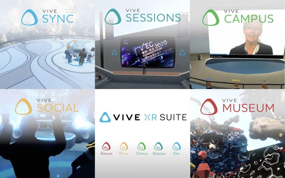 Mit der Vive XR Suite will HTC den dank der Corona-Pandemie schnell wachsenden Markt für Telepräsenz-Software erschließen.