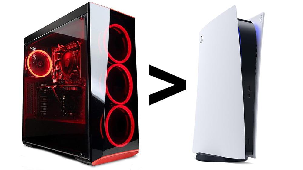 PC gegen PS5