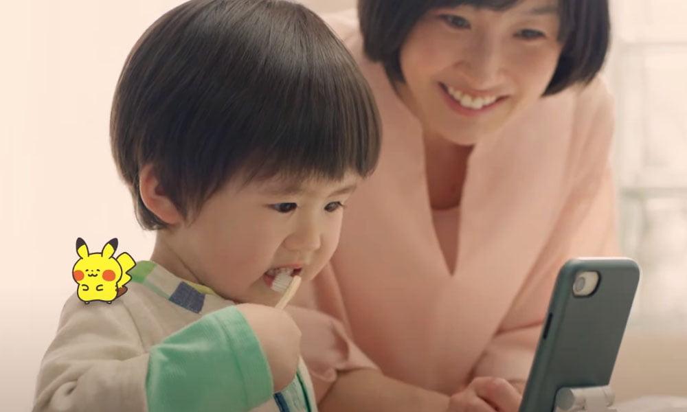 Pokémon Smile soll Kinder zur Zahnpflege motivieren.