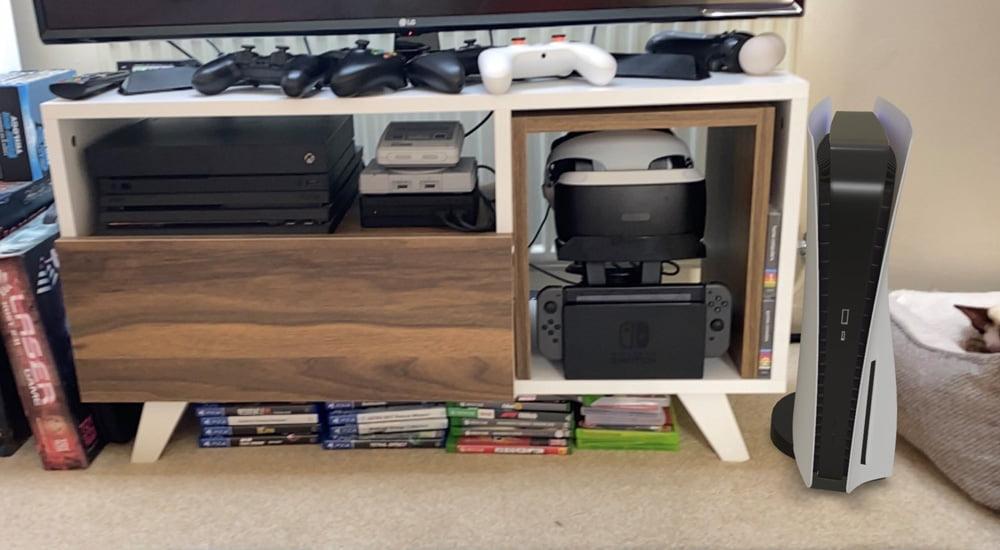 PS5 in AR: Stellt euch die Konsole digital ins Wohnzimmer