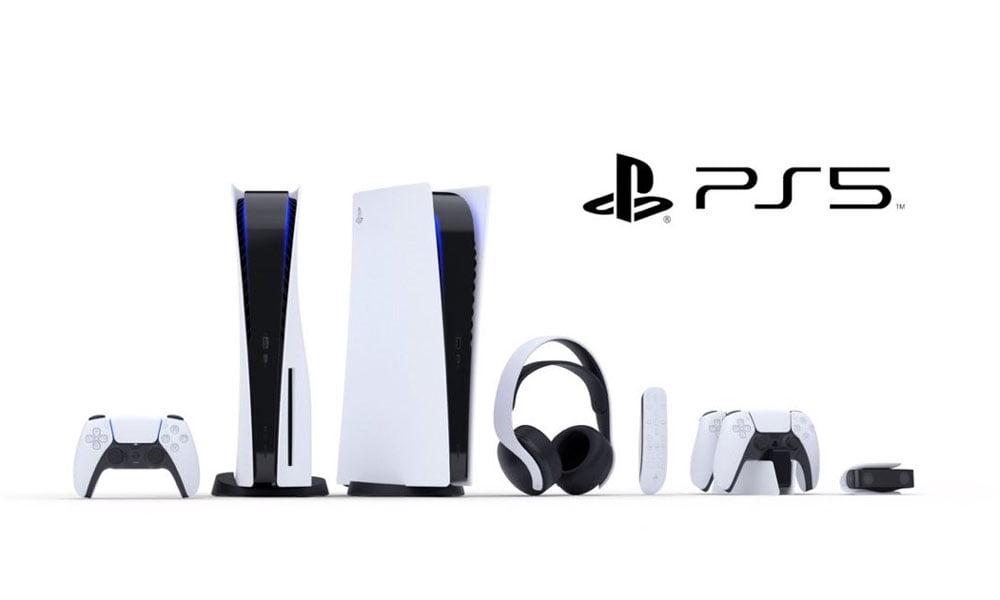 Sony zeigte Hardware und Zubehör für die PS5 - die rückwärtskompatible PSVR-Brille wurde dabei nicht erwähnt. Bild: Sony