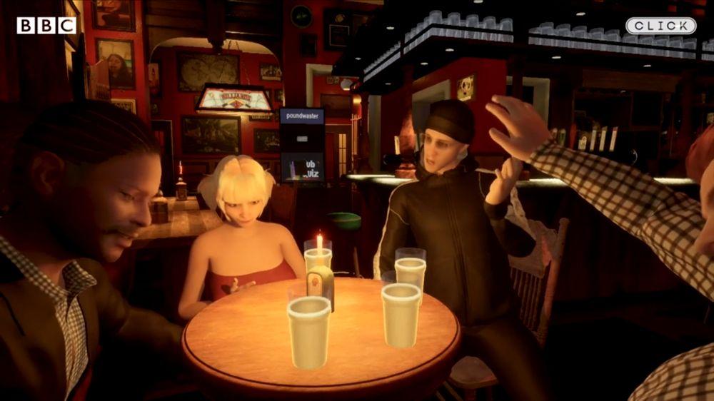 Lockdown kreativ: Brite baut Pub in VR nach