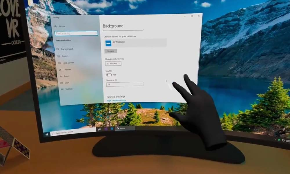| vrdesktop handtracking