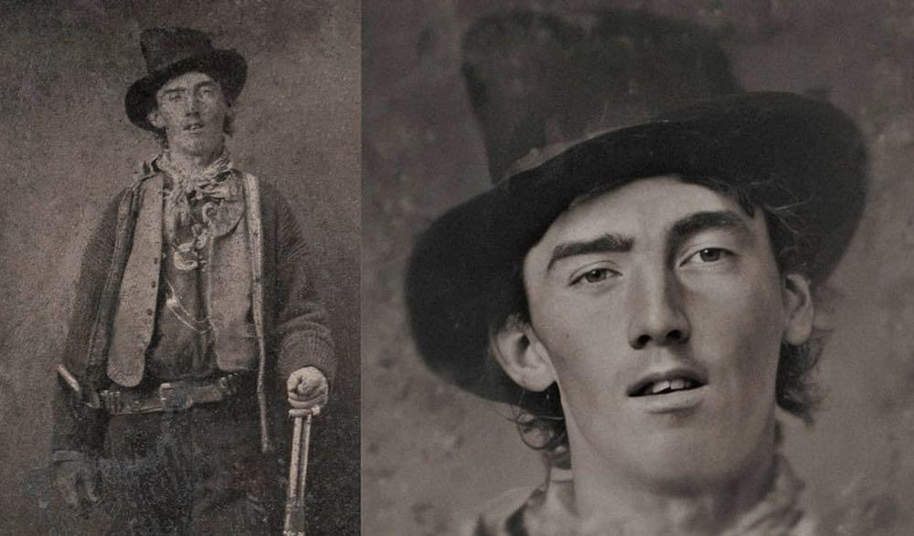 So könnten Billy the Kid oder Napoleon wirklich ausgesehen haben