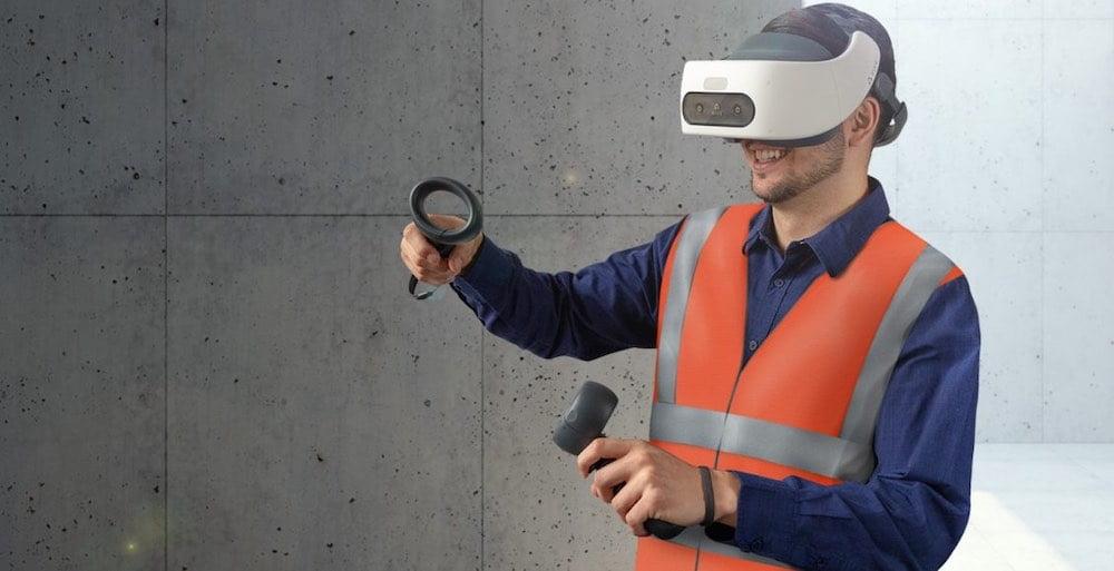 HTC verkauft ab sofort drei VR-Trainingsmodule für sicheres Arbeiten in der Industrie.