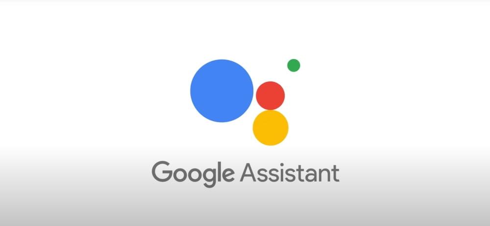 """Das logo """"Google Assistant"""", eines smarten Sprachassitenten von Goolge."""