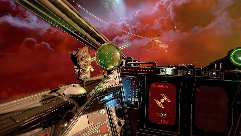De Hardcore-Modus von Star Wars: Squadrons sorgt für noch mehr Immersion unter der VR-Brille.