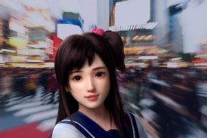 Ein Bild des jungen Chatbot-Mädchens Xiaoice. Bild: Microsoft