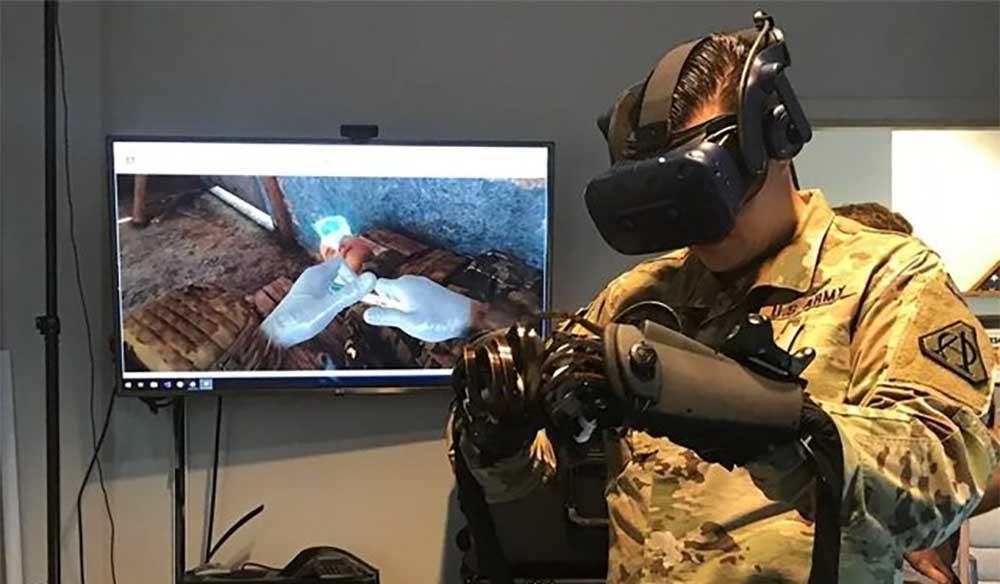 VR-Training für US-Militärsanitäter: Staatliche Förderung für Dienstleister