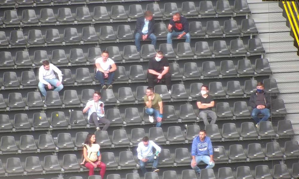 Fußballvereine testen KI-Technik, dank der Fans Corona-konform zurück ins Stadion könnten.