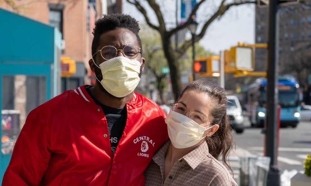 Mund-Nase-Schutz bringt Gesichtstracking aus dem Takt