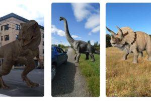 T-Rex in Originalgröße: Google bringt 3D-Dinos in die Suche