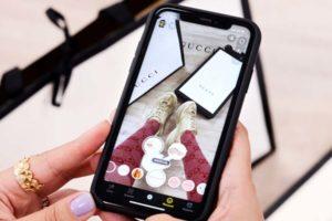 Gucci und Snap starten AR-Schuhverkauf