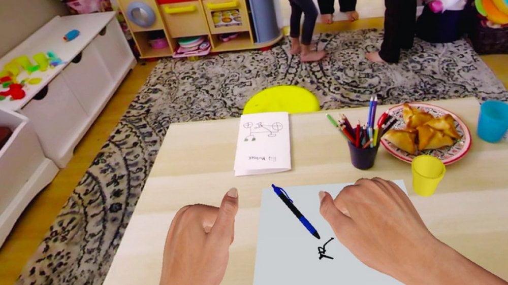| Embodied Labs VR Erfahrung Parkinson