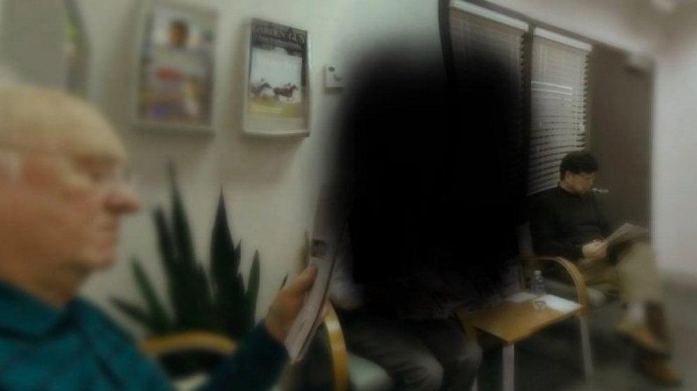 Simuliertes Sichtfeld eines Menschen mit degenerierter Netzhaut, gezeigt in VR von Embodied Labs