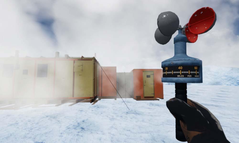 Eine kostenlose VR-Erfahrung führt euch in eine authentisch per Photogrammetrie digitalisierte Forschungsstation in der Antarktis.