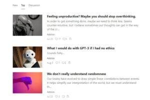 GPT-3 als Blogger: Fake-Blog zieht tausende Leser an