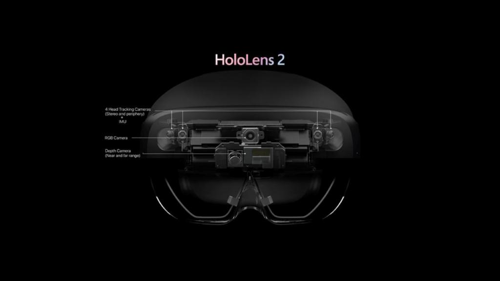 Im Forschungsmodus haben Entwickler direkten Zugriff auf viele Sensordaten der Hololens-2-Brille.   Bild: Microsoft