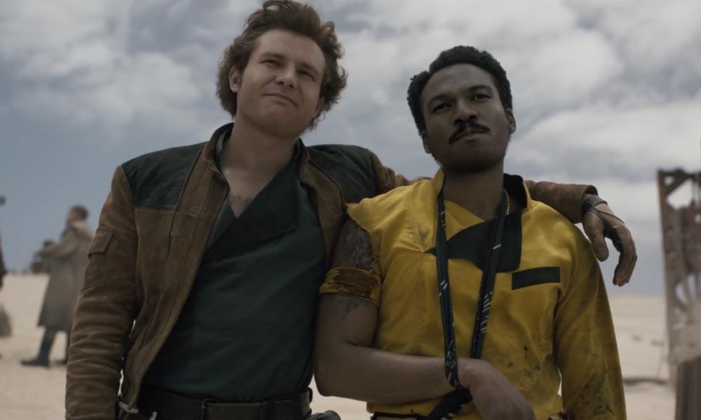 Die jungen Han Solo und Lando Calrissian.