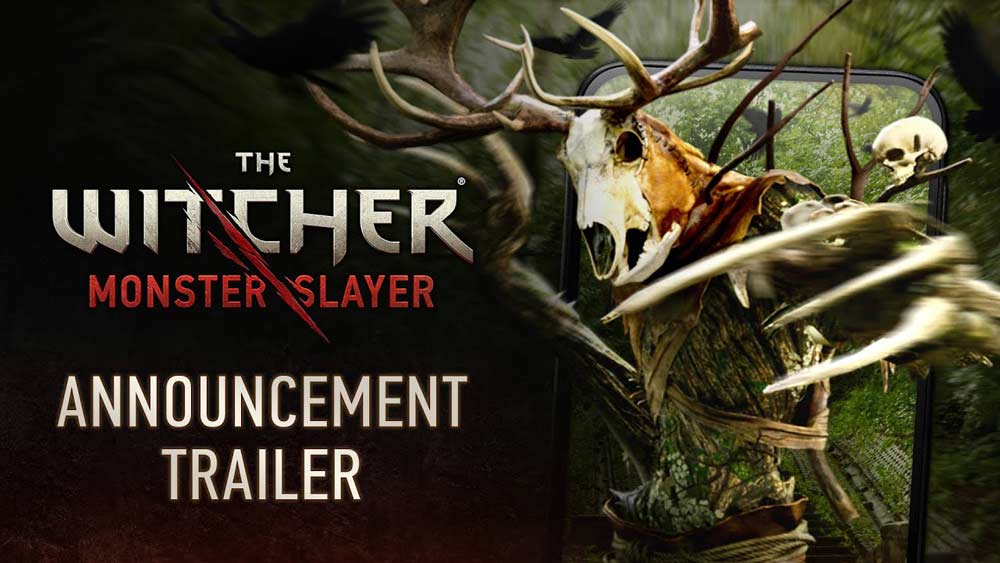 Das Logo für The Witcher: Monster Slayer