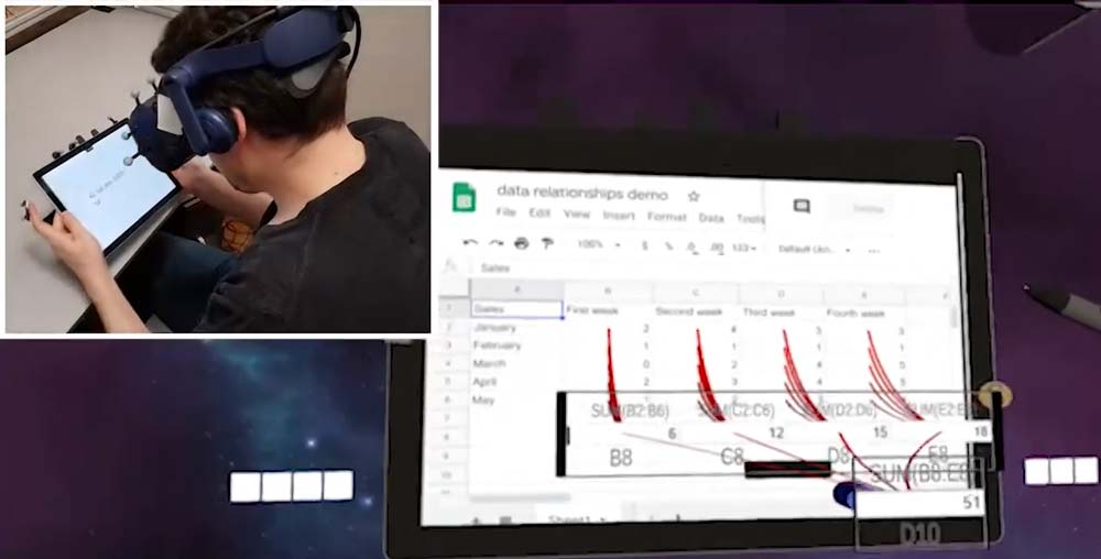 So sieht Microsoft Excel in 3D-VR aus