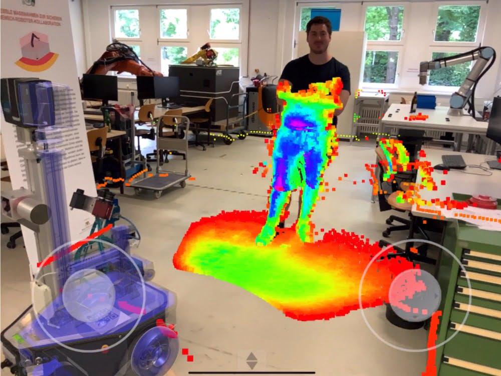 """Open Source AR: """"iviz"""" visualisiert Roboter-Daten"""