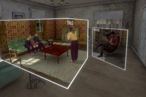 VR-Film Here Blick in zwei Zeitebenen