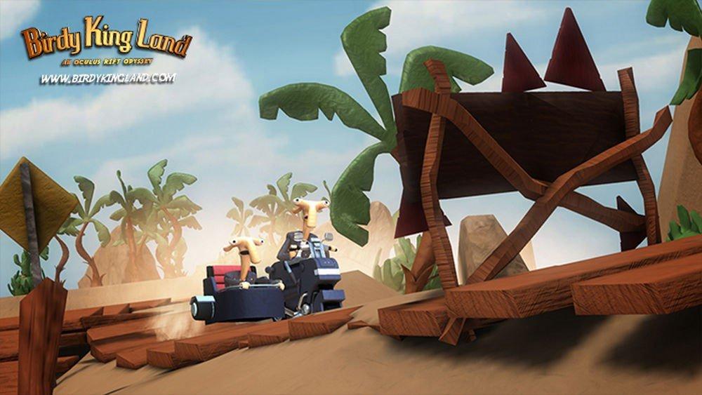 Birdy King Land: Kostenloser VR-Film im Pixar-Stil
