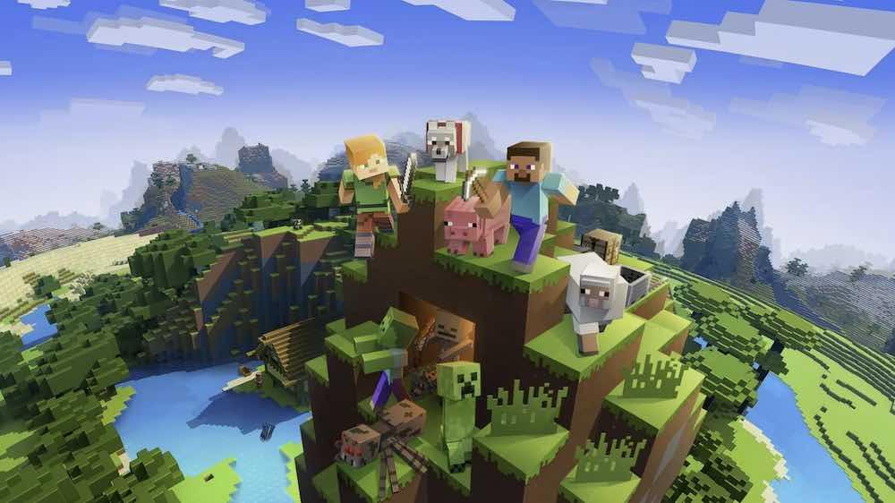 Minecraft_Klötzchenwelt