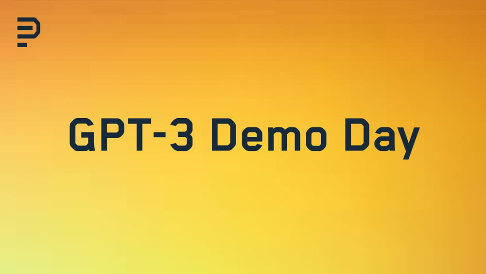 Pioneer GPT-3 Demo Day Logo