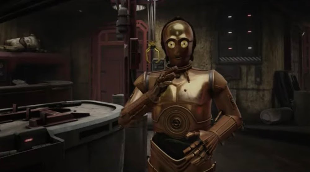 STAR WARS- TALES FROM THE GALAXY'S EDGE C-3PO