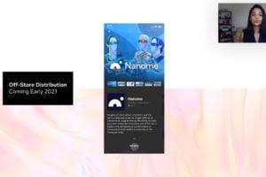 Screenshot einer Präsentation zum neuen Distributionskanal im Oculus Store.