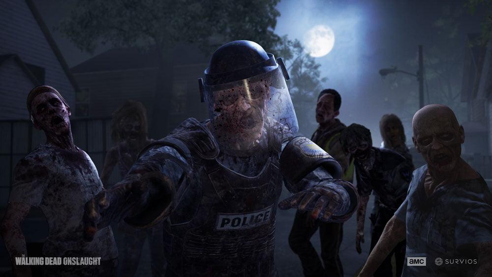 Eine Horde Zombies