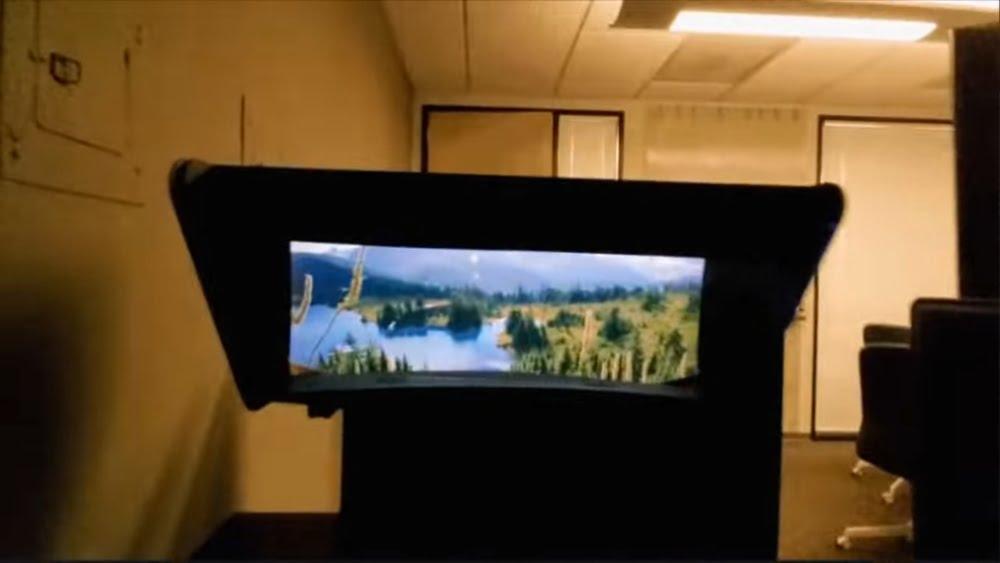 Prototyp eines immersiven Displays von Brelyon