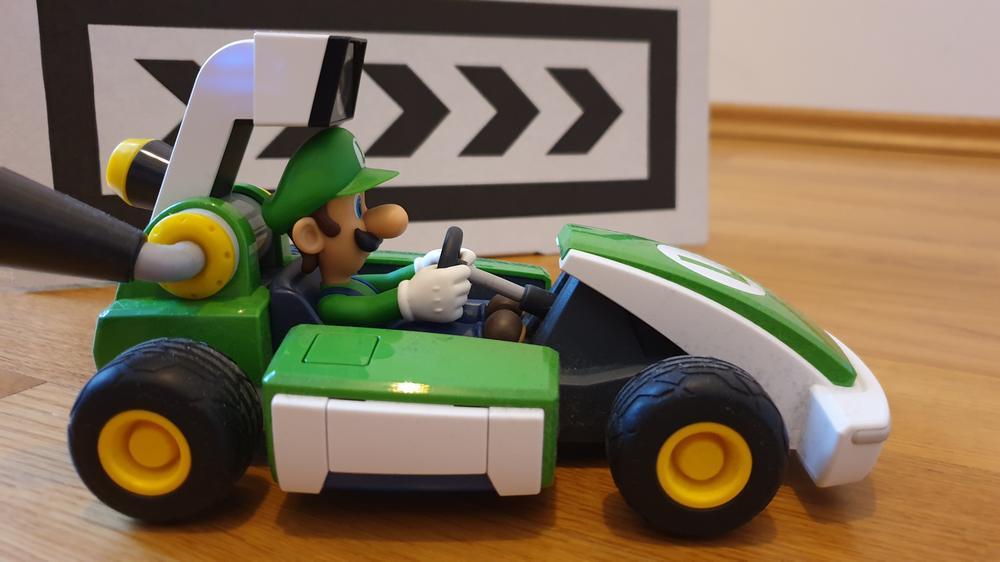Luigis Wagen aus Mario Kart Live: Home Circuit
