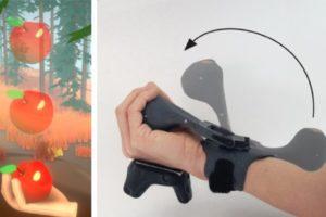 Microsoft PIVOT simuliert physikalische Krüfte in einer VR-Umgebung.