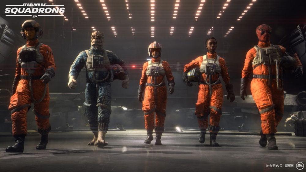 Fünf Star-Wars-Piloten