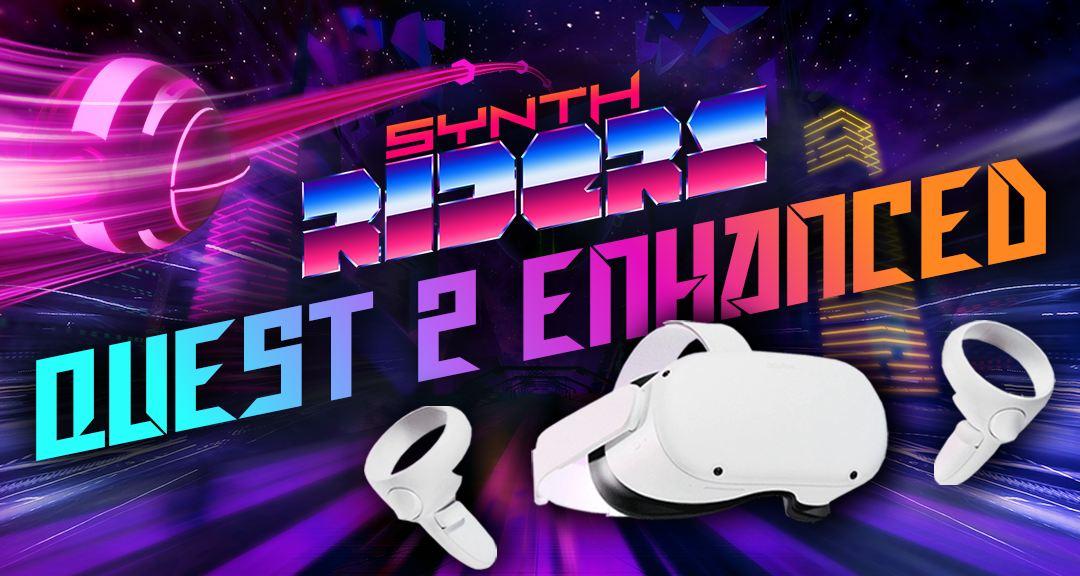 Synth Riders bekommt ein Update, welches das VR-Spiel für die Oculus Quest 2 optimiert.