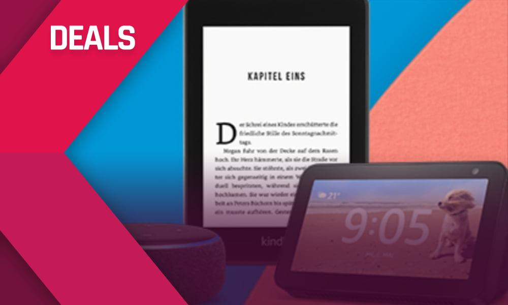 Echo 4 Dot, Fire-TV-Stick, Kindle Oasis – bis zu 50 € billiger